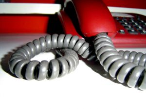 Telephone support after traffic accidents