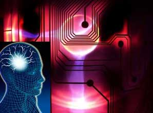Electronic Chip Interacting With The Brain