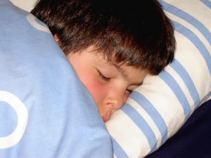 Children with high risk for a sleep-related breathing disorder