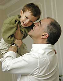 A Father's Hand Guides A Child To Success