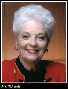 Ann Richards Diagnosed With Cancer
