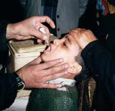 Eradication of Polio Nears